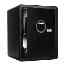 TIGERKING Safe Box with Keypad Digital Safe for Home, Office, Hotel, Black - 1.8 Cubic Feet