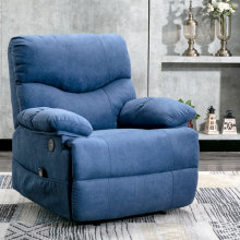 Home Powered Overstuffed Pillow & Armrest Recliner Chair Sofa with 8 Point Remote Control Massage