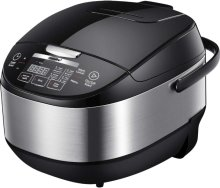 COMFEE' 5.2Qt (20 cups Cooked) Asian Style Programmable All-in-1 Multi Cooker, Rice Cooker, Steamer, Sauté, Yogurt maker, Stewpot