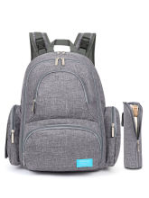Mummy Bag/Backpack Nappy Baby Diaper Comfotable Travel&Nursing Handbag Multi-Function Grey