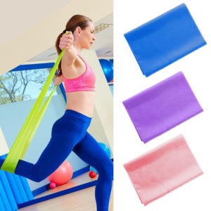 Yoga Fitness Exercise Body Strength Training TPE Resistance Band Elastic Circle