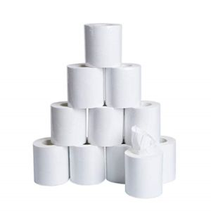 5 Rolls 3-Layer Soft Toilet Paper Household Bathroom Kitchen Bath Tissue