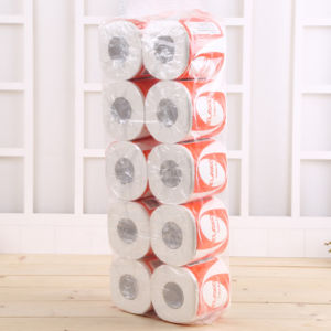 6 Rolls 3 Ply Home Hotel Restaurant Soft Bathroom Toilet Cleaning Tissue