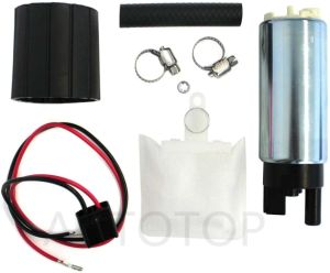 255LPH Electric Intank Fuel Pump With Installation Kit For Multiple Models ATP-342