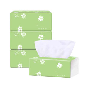 3 Packs 3-layer Home Disposable Soft Dinner Napkin Paper Baby Facial Tissues