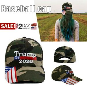 US store Trump Hat, President Donald Trump 2020 Hat Keep America Great Embroidery KAG MAGA USA Adjustable Baseball Cap