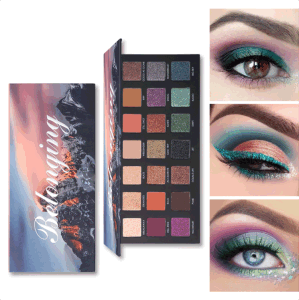 (3pcs/piece) Volcanic Eruption 21 Color Eyeshadow Palette Matte Eyeshadow Makeup