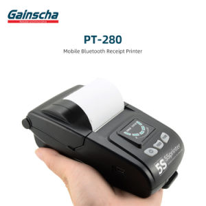 Gainscha PT-280 Steady-Selling Mobile Printer Bluetooth Printer 58mm Receipt Printing