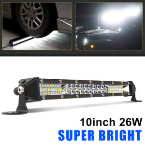 Led Light Bar Spot Flood Combo Driving Light Ultra-thin Off Road Lights Single Row Light Bar Super Slim Led Bar for Truck ATV, UTV, SUV, Cars