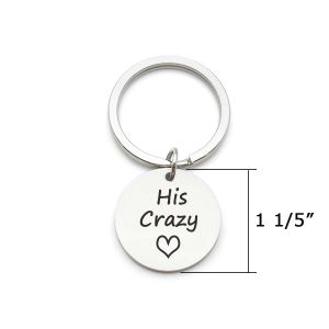 Couples Keychains Set,Personalized Couples Jewelry, for Boyfriend Girlfriend