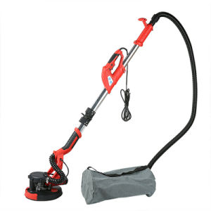 Free shipping 750W Drywall Sander Folding Handle-held Variable Speed Sanding Pad W/ Vacuum Bag