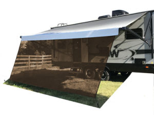 RV Awning Sun Shade Screen Front