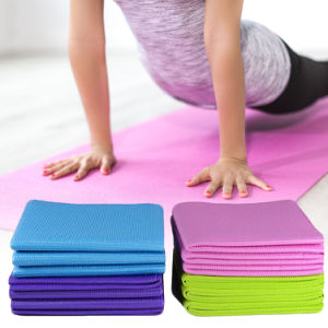 Portable 4mm Thick Anti-slip PVC Gym Home Fitness Exercise Pad Yoga Pilates Mat