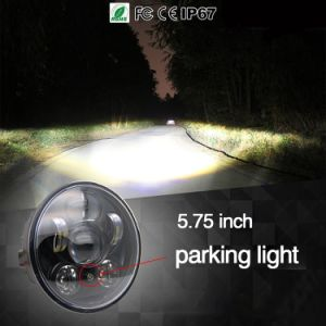 "Colight 5-3/4"" 5.75 LED Headlight for DOT Hi/Lo Beam 5.75 Inch Motorcycle Headlight"