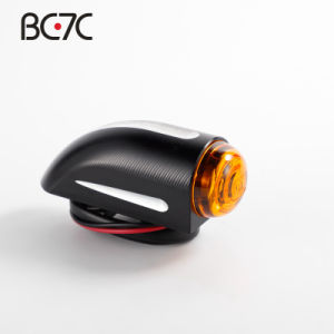 Motorcycle Black CNC Aluminum Alloy Command Light Modified Signal Turn Lamp For Harley Sporster Dyna Softail V-Rod Chopper