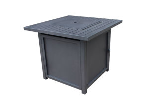 "Upland 30"" Slat Top Gas Fire Pit Table"
