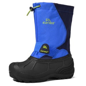 Mid Calf Waterproof Winter Snow Boots for Boys girls kids toddler