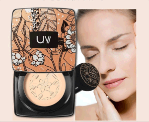 (12pcs/piece) Small Mushroom Shape Moisturizing Concealer Brighten BB Cream Foundation Liquid Cushion