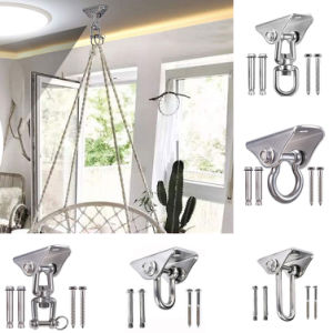 Stainless Steel Heavy Duty Hanger Suspension Hook for Yoga Hammock Sandbag Swing