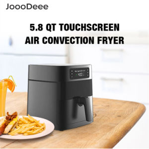 JoooDeee Air Fryer Oven 5.8-Quarts Digital Touch Screen