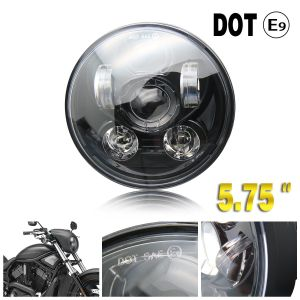 "Colight 5-3/4"" 5.75 LED Headlight for DOT Hi/Lo Beam 5.75 Inch Motorcycle Headlight M003D-B"