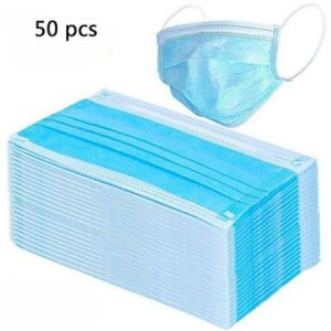 Free local delivery 50 disposable life mask 3-layer protective masks home life mask