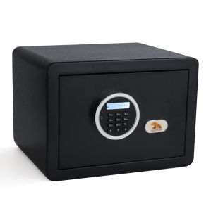 TIGERKING Digital Security Safe Box Fashion Black 1-Cubic-Feet