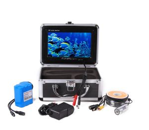 "CER110-7L DVR Fish Finder, 7"" Color Monitor, 1000 TV Lines Resolution Camera, With DVR, 30m Waterproof Cable, With IR or White LED Light"