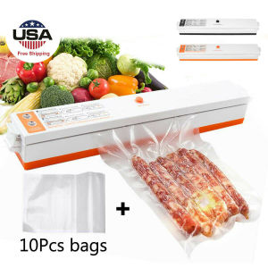 Free shipping Vacuum Sealing Machine Electric Food Packaging Machine Saving Food US