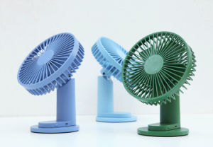 Xiaomi youpin  VH Tan 2 In 1 Clip-on Table Desktop USB Fan 90° Rotatable 3 Modes Wind Speed Cooling Fan Outdoor Travel