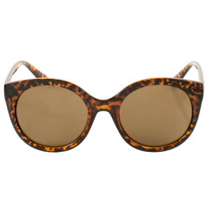 Free shipping Lens Trendy Ladies Cat 3 UV400 Protection Fashionable Sunglasses Oversize Vintage Shades