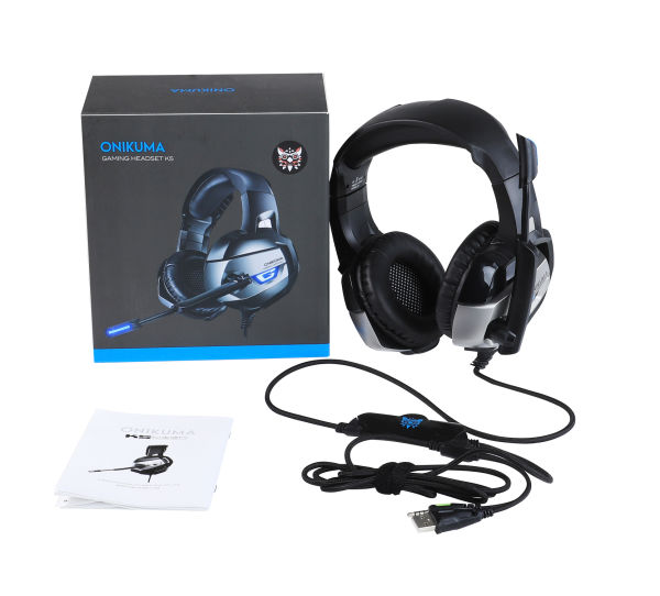dropship ONIKUMA PS4 Headset -Xbox One Headset Gaming Headset Noise Canceling Gaming Headphones with Mic & LED Light for PS4,Playstation,Xbox One