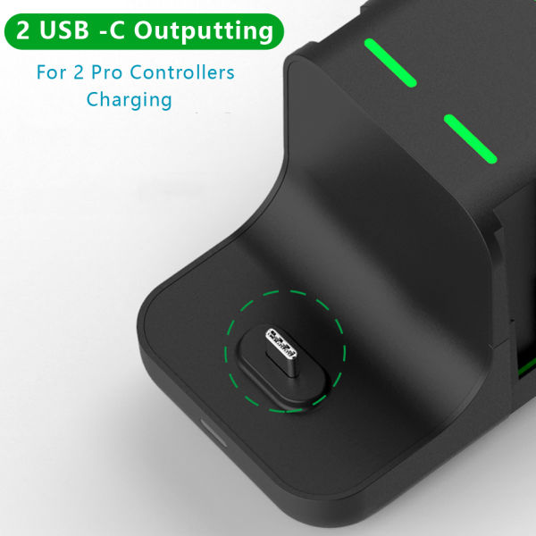 dropship 6 in 1 Charger station for Nintendo Swith with 4 Joy-Cons and 2 pro Controllers Charging docking station