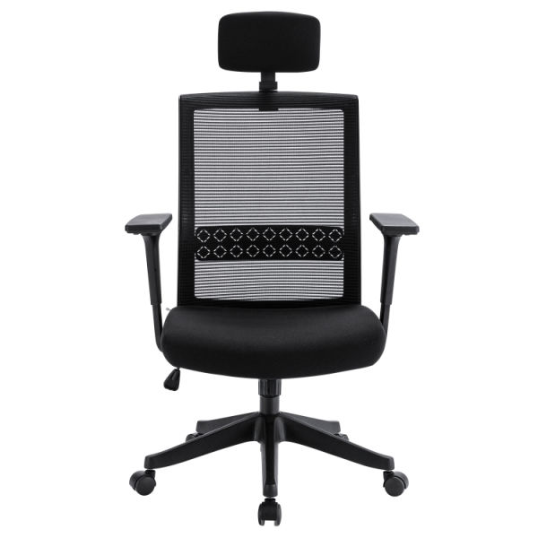 dropship Free Shipping Ergonomic Office Chair Adjustable Headrest Mesh Office Chair Office Desk Chair Computer Task Chair