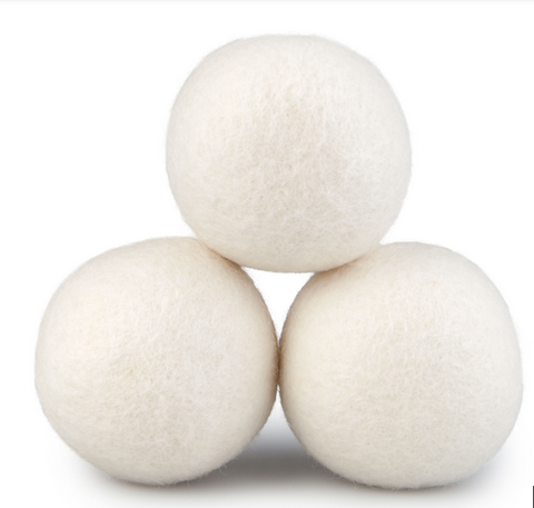 dropship Woolous Wool Dryer Balls Organic XL 6 Pack, Premium New Zealand Non-Toxic Laundry Dryer Ball,Handmade Reusable Natural Fabric Softener,Reduce Wrinkles,Saves Drying Time Felted Eco Dryer Ball