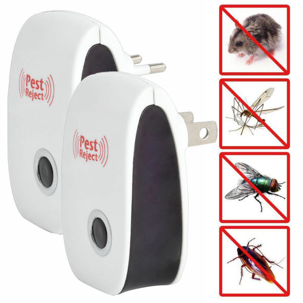 dropship Electronic Pest Repeller Ultrasonic Mouse Rat Mosquito Control Insect Reject
