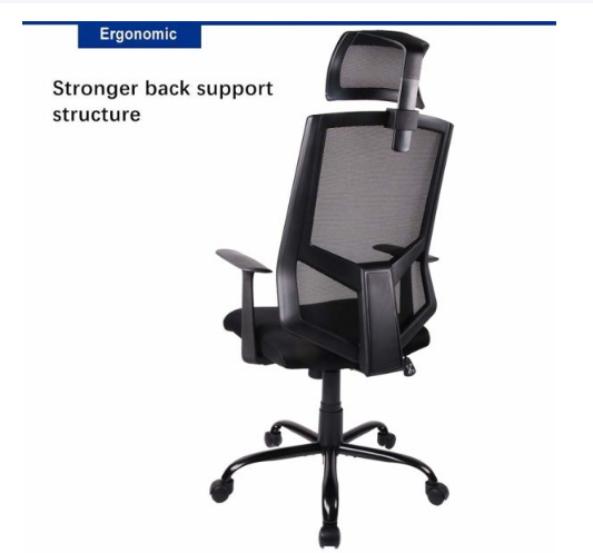 dropship Qwork Ergonomic Office Chair Adjustable Headrest Mesh Office Chair Office Desk Chair Computer Task Chair
