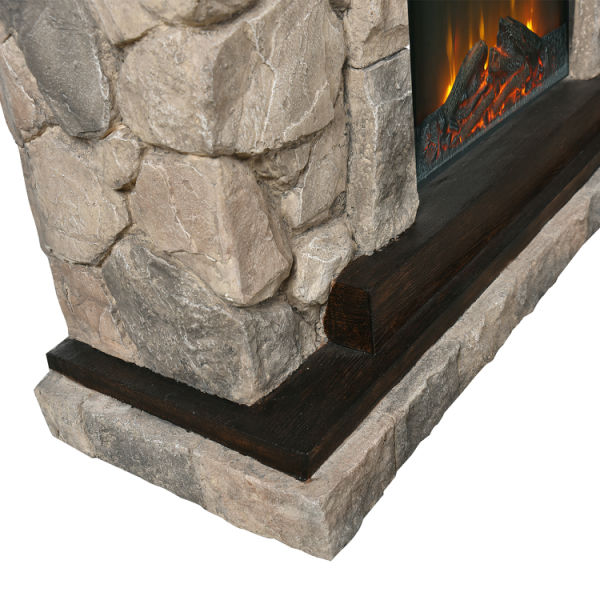 dropship  Upland Electric Fireplace