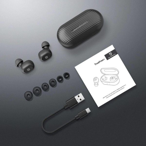 dropship SOUNDPEATS True Wireless in-Ear Earbuds 35Hrs Black