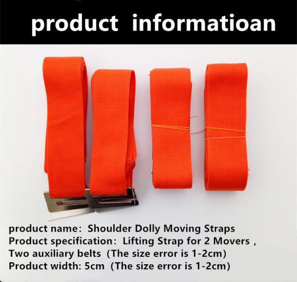 dropship  HX Adjustable Shoulder Lifting,Carrying and Moving Straps for Furniture Appliances Etc.Best Weight Moving Lifting Carrying Straps for 2-Man/Women Movers Easily Secure to Lift Heavy Objects