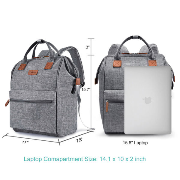 dropship Fashion Laptop Backpack Travel Bags for Work/Business with USB-Charging Multi-function LOKASS®