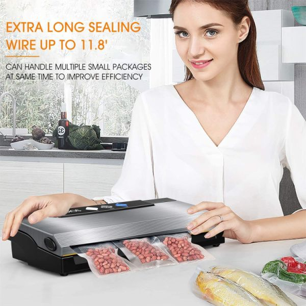 dropship KOIOS 80Kpa Automatic Vacuum Food Sealer Machine