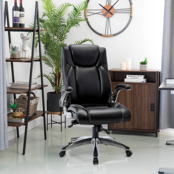 dropship High Back Leather Executive Computer Desk Chair