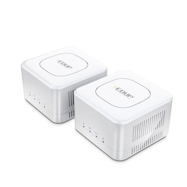 dropship Edup Router Mesh WiFi 2.4 + 5GHz WiFi Router High Speed 2 Core CPU 512MB Gigabit Power 4 Signal Amplifiers for Smart Home