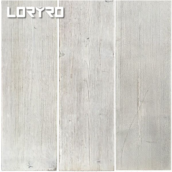 dropship Wall Planks for Wood 3D Wall 12.4 sqft. Peel and stick Gray&Plain-weave Paneling