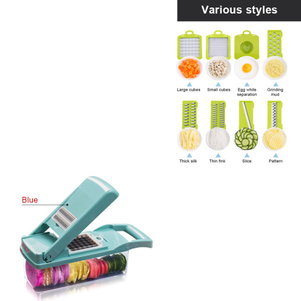 dropship Free shipping Vegetable Slicer Chopper Food Kitchen Onion Potato Peeler Manual Multifunction