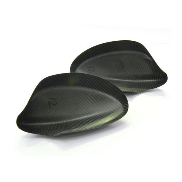dropship Add On Full Dry Carbon Fiber Car Side Mirror Covers For BMW 3Series E90 (2009-2012)