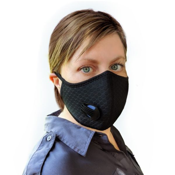 dropship Sheald Single Valve Nylon Mesh Outdoor Masks Set of 2
