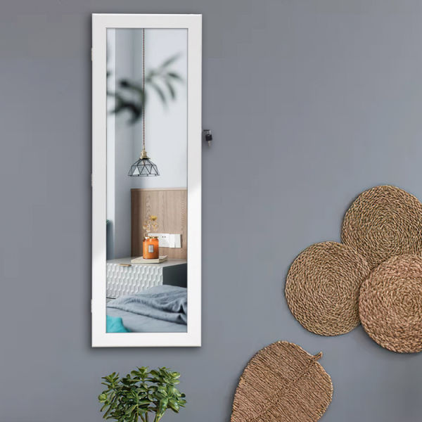 dropship Free shipping Fashionable and contracted jewelry receives mirror ark to be able to hang on the door or wall