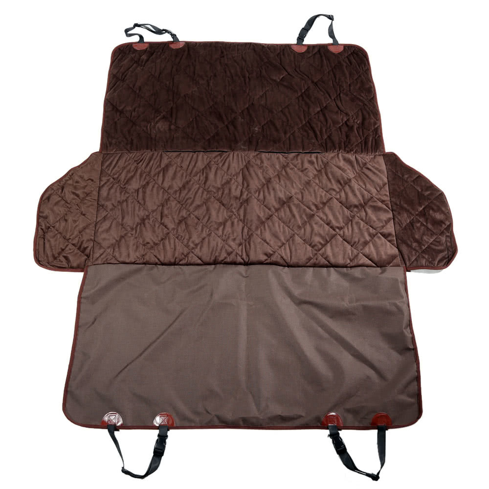 dropship Non-slip Pet Car Back Seat Cover Water-proof Dog Safety Hammock Protector Mat for Trunk SUV Pet Supply